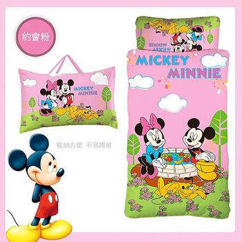 《Disney迪士尼》 米奇米妮幼教兒童睡袋-約會篇(二色可選)