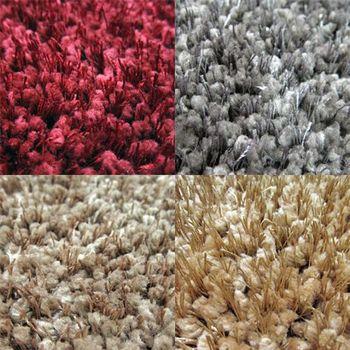 范登伯格 光澤雙色紗長毛地毯-(共四色)-130x200cm