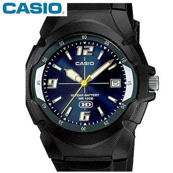 【CASIO卡西歐】休閒個性運動膠帶腕錶(MW-600F-2A)
