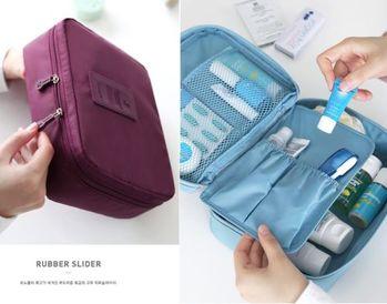 二代多功能小包旅行收納包 防潑水洗漱包 整理袋/盥洗包/化粧包/旅行收納袋