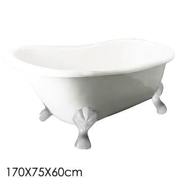 【Aberdeen】 蘇菲亞 獨立浴缸-白(170cm)