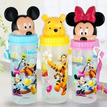 迪士尼造型水壺 背帶水壺 米奇 米妮 維尼熊