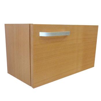 【Aberdeen】極緻單層浴室收納櫃 (柚木色)