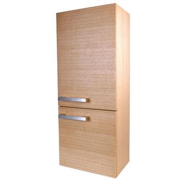 【Aberdeen】極簡二層浴室收納櫃 (柚木色)