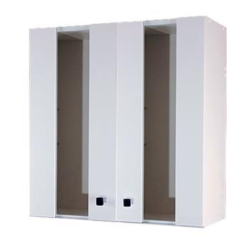 【Aberdeen】時尚浴室收納櫃-白色(對開)