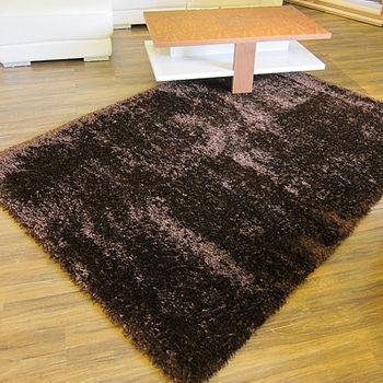 范登伯格 絲朵光澤蓬鬆長毛地毯-(咖啡)-200x290cm