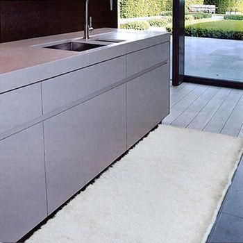 范登伯格 光澤雙色紗長毛地毯-(毛高3cm-共四色)-80x150cm