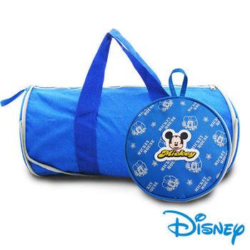 迪士尼授權米奇圓型收納購物袋 (大30CM)MKR-017P
