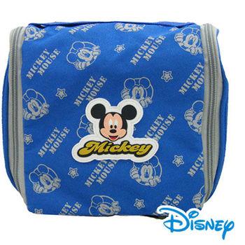 迪士尼授權米奇吊掛式盥洗袋藍MKR-09