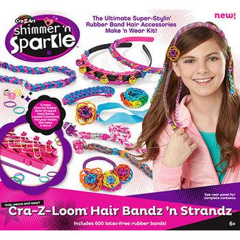 【美國Cra-Z-Art】Cra-Z-Loom 彩虹圈圈髮飾編織器
