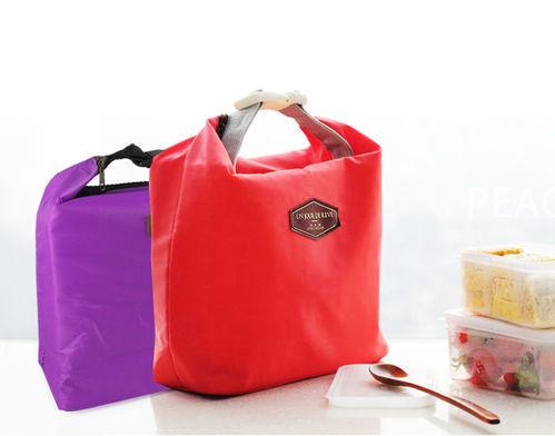扣式野餐保冷袋 保鮮袋 便當包/旅行防潑水包/韓風收納袋/旅行收納袋/萬用保溫袋