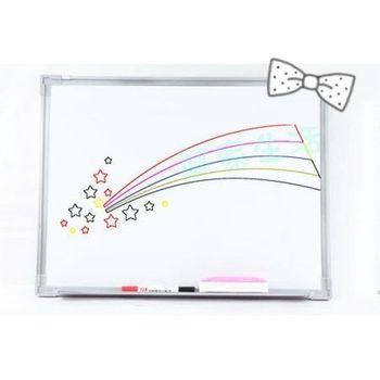 小白板 30x45 送板擦+白板筆 白板 黑板 磁性白板