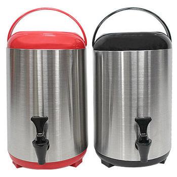 日式手提保溫桶 10公升 雄獅 茶桶 冰桶 保溫桶 啤酒桶