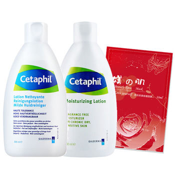 Cetaphil舒特膚 清潔保濕組