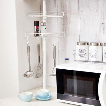 【ikloo】頂天立地廚房收納架/置物架