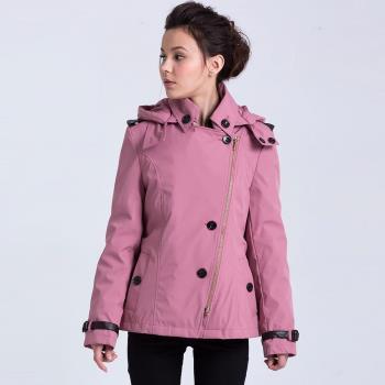 ST.MALO修身版型蓄熱2件式風衣