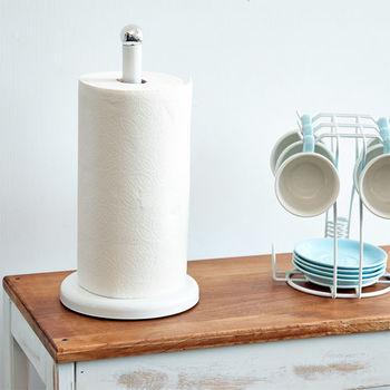 ikloo 簡約桌上型紙巾架 (氣質白)