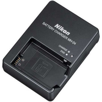 【Nikon】MH-24 充電器 EN-EL14 專用 (原廠充電器) 贈WD配件包(顏色隨機出貨)