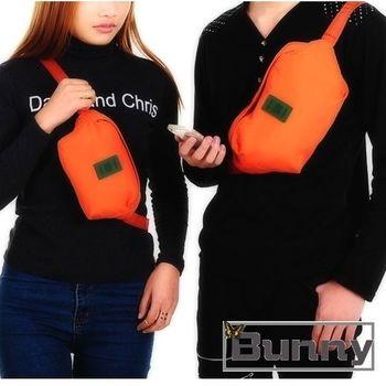 【Bunny】情侶款運動腰包證件包單肩包(31 * 17.5 cm)
