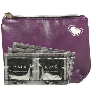 RMK 液狀粉霜紫霧光化妝包體驗組 #102