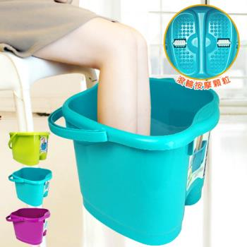 滾輪泡腳桶 足浴桶 足療桶 水桶 足部按摩SPA
