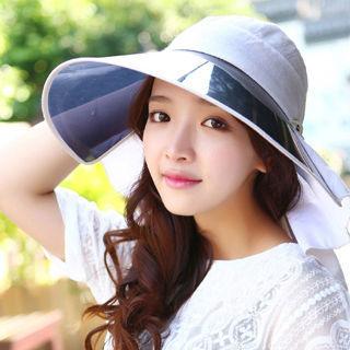 【OUTBOUND】韓系UV50防曬鏡片帽(5色任選)