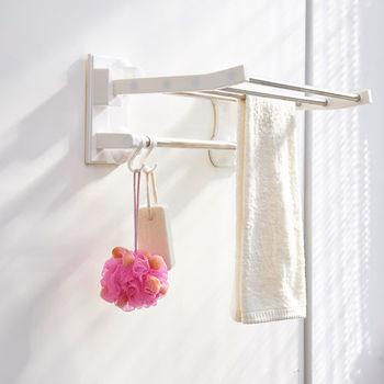 ikloo_Taco無痕吸盤系列-不鏽鋼吸盤衛浴置物架