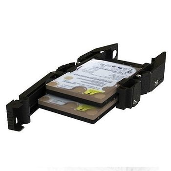ICY DOCK 2.5吋雙層式SSD硬碟固定架-MB990SP-B
