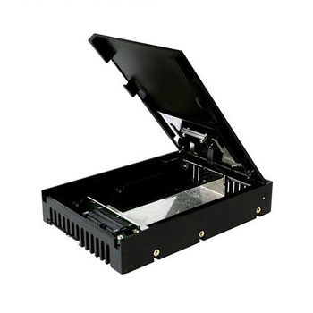 ICY DOCK 2.5吋轉3.5吋SATASSD硬碟轉換盒-MB882SP-1S-1B