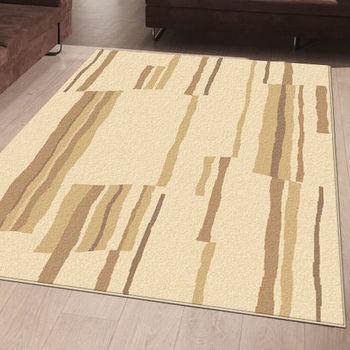 范登伯格 愛蕊流線典雅仿羊毛地毯-格彩(米)-160x230cm