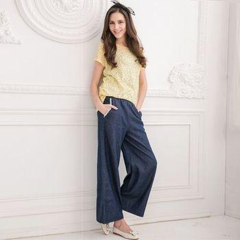 DECOBA換季顯瘦空氣牛仔褲裙