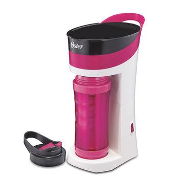 美國OSTER隨行杯咖啡機(桃紅)