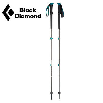 【美國Black Diamond】Trail Pro泡棉鎖定登山杖 女款 -59~125cm 一對