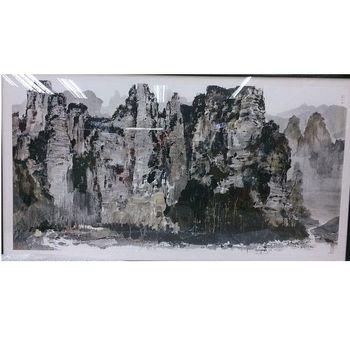 世紀巨匠吳冠中版畫_張家界-24