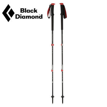 【美國Black Diamond】Trail Pro泡棉鎖定登山杖-63~140cm 一對