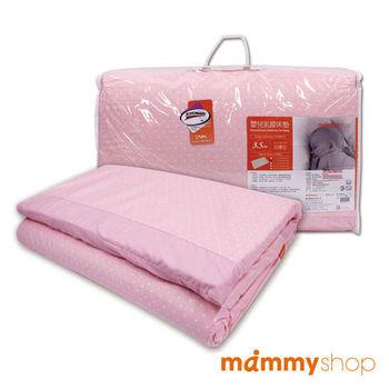 媽咪小站-嬰兒乳膠加厚中床墊 (粉)