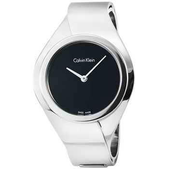 CK Calvin Klein Senses 凱文克萊手環錶-黑 / K5N2S121