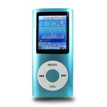 B1822四代蘋果 插卡式1.8吋彩色螢幕 MP4隨身聽(加8G記憶體)加送3大好禮
