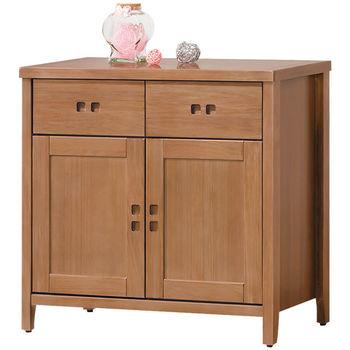 時尚屋 [UZ5]香杉美檜3尺碗盤櫃900-6