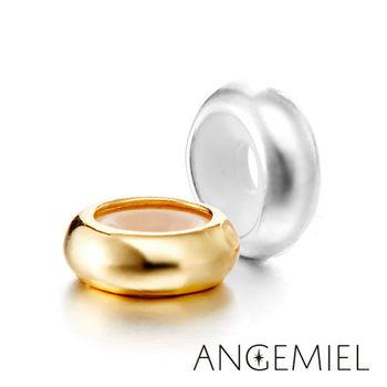 Angemiel安婕米 925純銀珠飾 簡約 固定珠(任選一款)