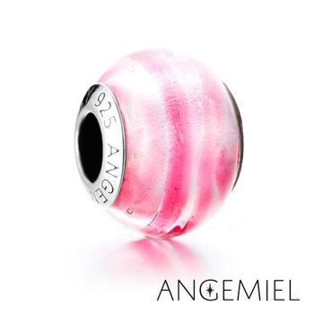 Angemiel安婕米 義大利純銀珠飾 柔美 琉璃珠