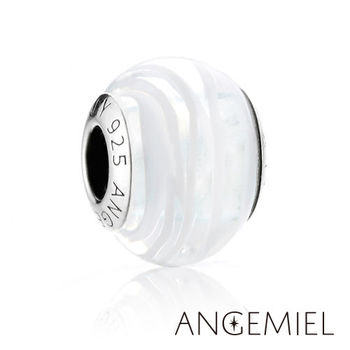 Angemiel安婕米 義大利純銀珠飾 冰心 琉璃珠