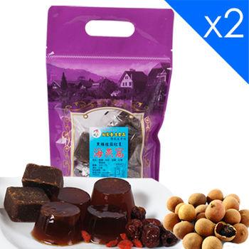 向家養生食品 頂級黑糖桂圓紅棗海燕窩 500gx2包入