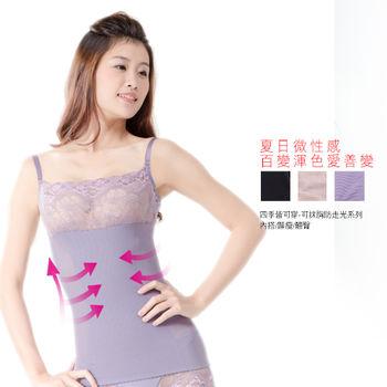 凱芮絲(S~XXL)MIT精品-抹胸塑身迷你裙 紫羅蘭