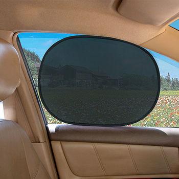 CARBUFF 車痴圓弧玻璃靜電貼44X36cm(4入裝) MH-4030