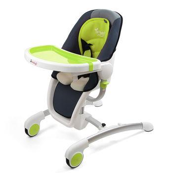 Yip Baby star wars 太空船豪華餐椅-綠