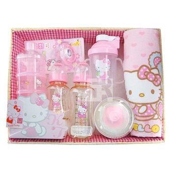 Hello Kitty用品禮盒(PES奶瓶)