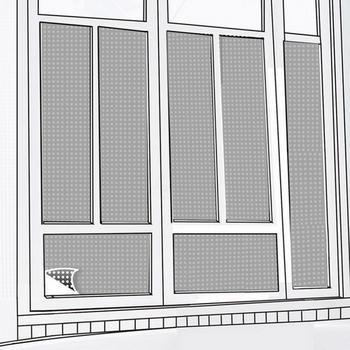 CARBUFF DIY居家玻璃靜電貼(銀/黑60X150cm) 2入 MH-4037