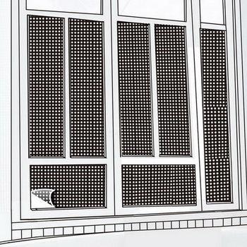 CARBUFF DIY居家玻璃靜電貼(黑50X300cm) MH-4024