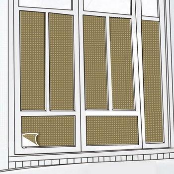 CARBUFF DIY居家玻璃靜電貼(褐50X150cm) 2入 MH-4023